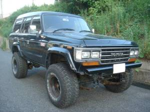 1989 toyota land cruiser hj61 4.0 D 240k sale japan