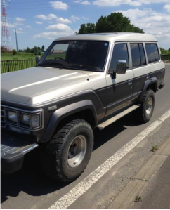 1989 toyota land cruiser hj61v hj61 vx turbo for sale japan 140k
