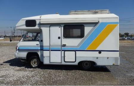 1993 mitsubishi delica camping car diesel for sale in japan 46k