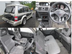 1993 mitsubishi pajero mid roof exceed v44wg for sale japan 240k-1