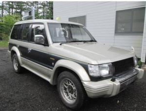 1993 mitsubishi pajero mid roof exceed v44wg for sale japan 240k-2
