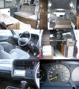 1995 toyota hiace camper campervans kzh138 for sale japan-1