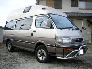 1995 toyota hiace camper campervans kzh138 for sale japan