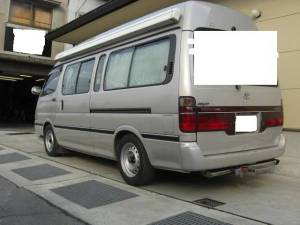 2001 toyota hiace campervan for sale japan kzh132v-1