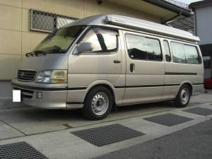 2001 toyota hiace campervan for sale japan kzh132v