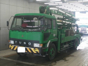 used mitsubishi fuso concrete pump trucks for sale in japan
