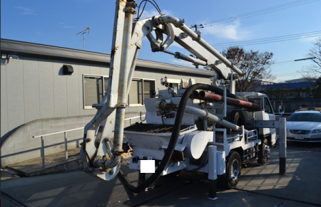 1992 isuzu concrete pump truck sale in japan 1