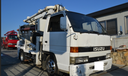 1992 isuzu concrete pump truck sale in japan 2