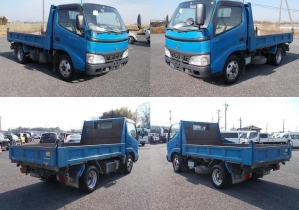 xzu 351 2 ton tipper dump trucks for sale in japan