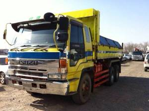 1993 isuzu dump truck tipper cxz72jd 1000k sale japan-1