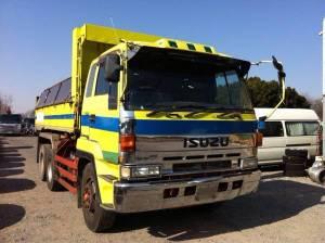 1993 isuzu dump truck tipper cxz72jd 1000k sale japan