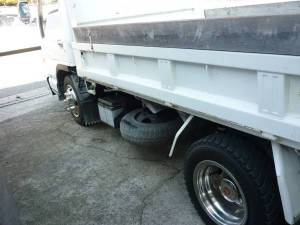 1995 isuzu 2 ton dumper dump truck for sale in japan nkr66ed 140k-1