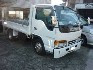 1995 isuzu 2 ton dumper dump truck for sale in japan nkr66ed 140k