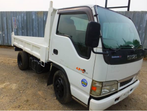 2003 isuzy elf nkr 81 nkr81ed tipper dump truck for sale in japan 184k
