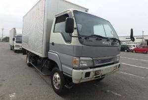 2004 isuzu elf 4wd 4x4 pantec truck for sale in japan