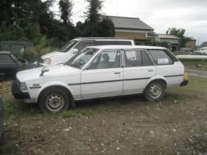 1982 toyota corolla wagon classics sale japan ke73G 257k