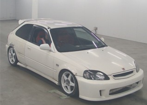 1998 honda civic ek9 1.6 vtec type R for sale in japan