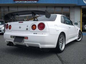 1999 nissan skyline r34 bnr34 gtr rb26dett 2.6 for sale in japan 120k-1