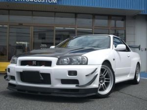 1999 nissan skyline r34 bnr34 gtr rb26dett 2.6 for sale in japan 120k