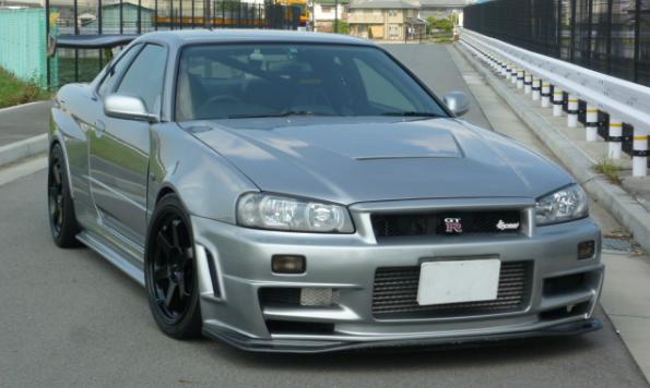 r34 v spec for sale japan