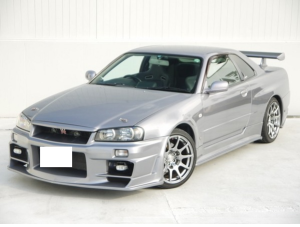 1999 nissan skyline rb26dett 2.6 sale japan bnr34 gtr