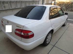 1999 toyota corolla sedan ae110 72k sale japan-1