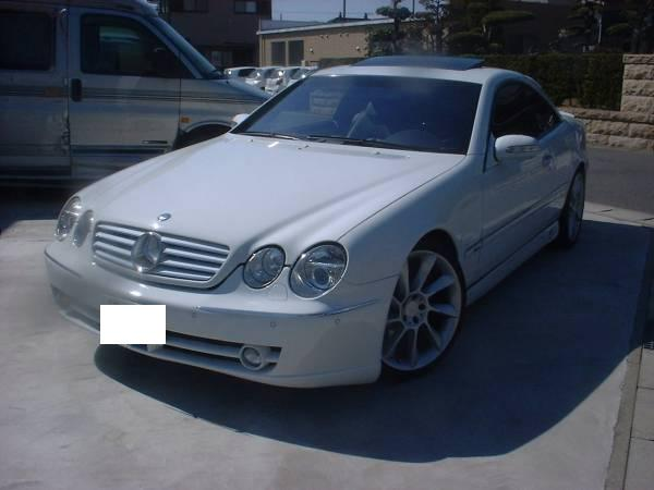 1997 mercedes benz cl600 for sale import japan jpn car for Mercedes benz cl600 for sale