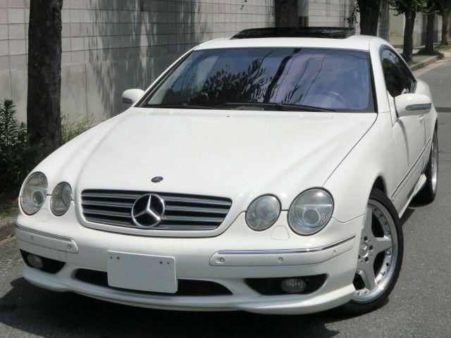 1997 mercedes benz cl600 for sale import japan jpn car for Mercedes benz japan