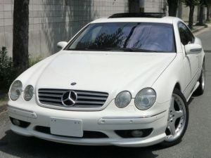 2002 mercedes bnez cl600 for sale in japan 75k used