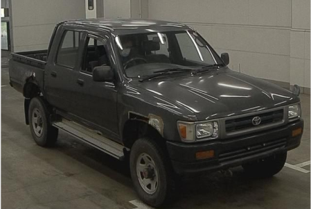 1993 toyota hilux double cabin cab 2.8D manual LN107 for sale in japan 2 (2)