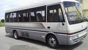 1995 mitsubishi fuso rosa bus be459 be459e for sale in japan 4d34 140k-4