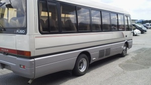 1995 mitsubishi fuso rosa bus be459 be459e for sale in japan 4d34 140k-5