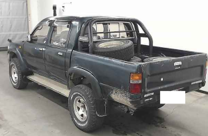 1997 toyota hilux double cab cabin truck ln112 ln 112 ssr-x 4wd 4x4 for sale in japan used