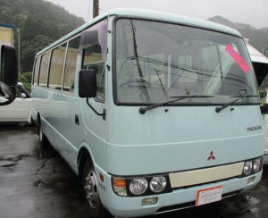 1998 mitsubishi fuso rosa bus busese 29 seaters MT 5.2 diesel for sale in japan