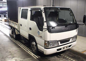 2002 isuzu elf nkr 81 ed nkr81ed nkr81 dump tipper truck trucks 4.8 diesel used double cab cabin for sale in japan