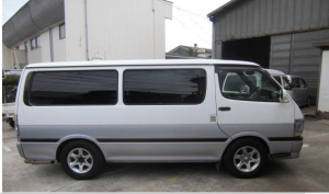 1999 toyota hiace super gl 3.0 lh172V 210k for sale in japan diesel 2