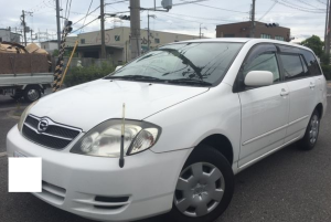 2004 toyota corolla filder nze121g nze121  1.5 x limited for sale in japan