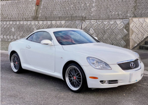 2006 lexus convertible SC 430 sc430 4.3 AT for sale in japan