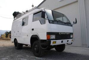 1988 canter 70k 4WD