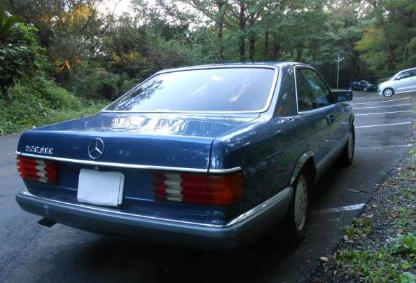 1991 mercedes benz 560 sec for sale japan import iraque dubai jpn car name for sale. Black Bedroom Furniture Sets. Home Design Ideas