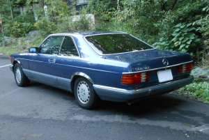 1988 mercedes benz 560sec for sale japan 136k-2
