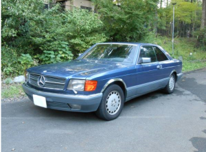 1988 mercedes benz 560sec for sale japan 136k
