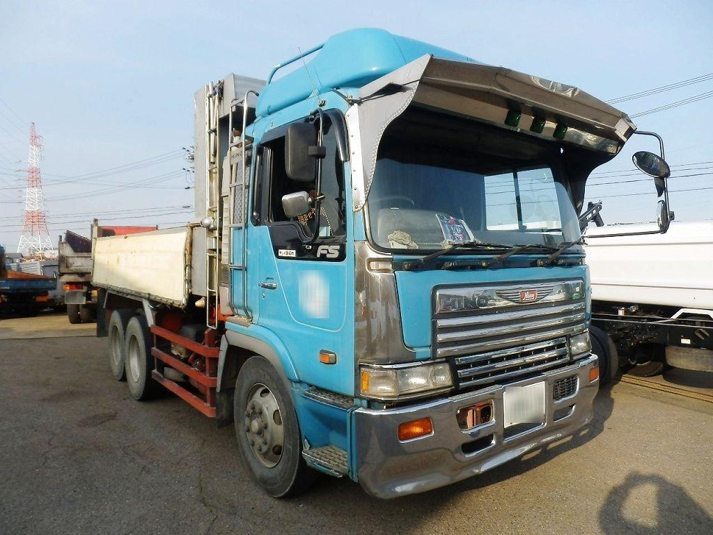 1993 hino profia fs3fkbd dump truck sale japan 1