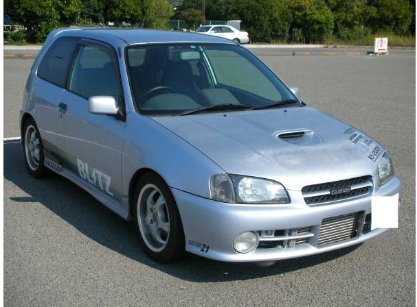 Toyota Starlet Ep91 Glanza V Turbo For Sale Japan