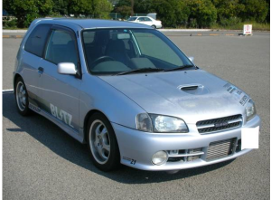 1996 toyota starlet glanza ep91 turbo v 1.3 mods modified sale japan 85k-1