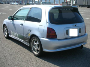 1996 toyota starlet glanza ep91 turbo v 1.3 mods modified sale japan 85k-2