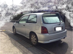 1997 toyota starlet ep91 glanza v turbo for sale japan 230k-1
