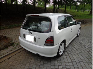 1997 toyota starlet glanza v ep91 turbo for sale in japan 1.3 143k-1