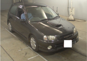 1998 toyota starlet glanza v turbo ep91 for sale japan 106k
