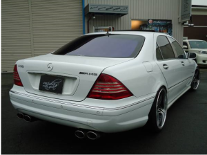 1999 mercedes benz s500l 5.0 for sale in japan 145k-1